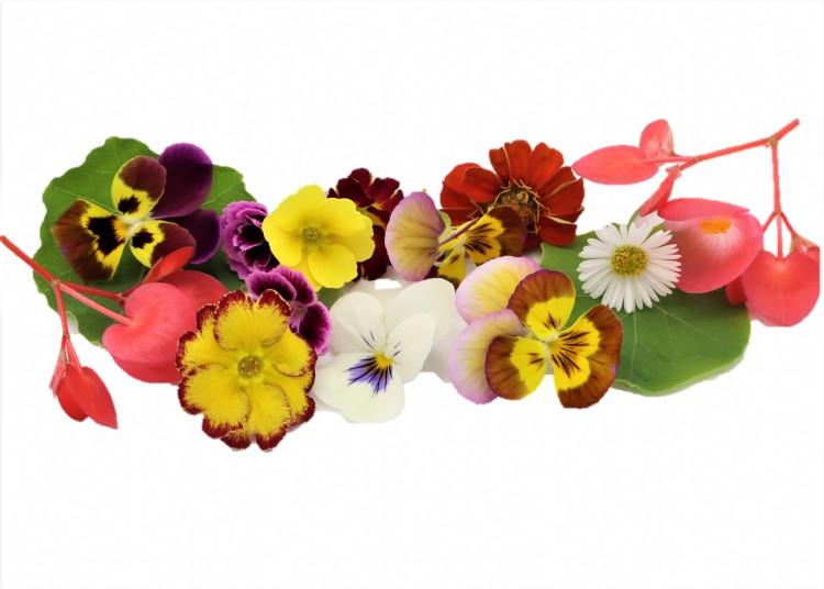kleine bloemenmix